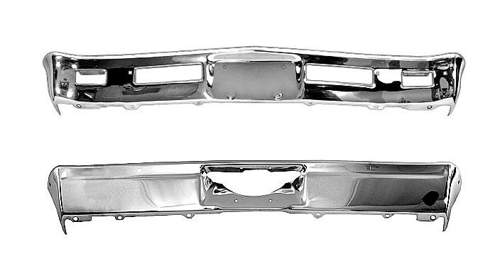1968-1969 Nova Bumper Kit Front And Rear