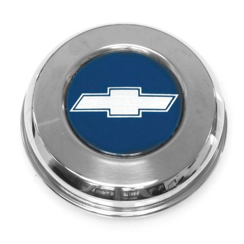 1971-1972 Chevelle SS Style Blue Bowtie Center Cap