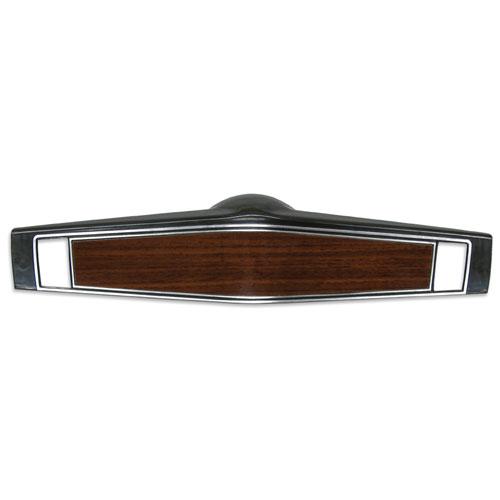 1969-1970 Chevelle Standard Steering Wheel Shroud Wood Grain