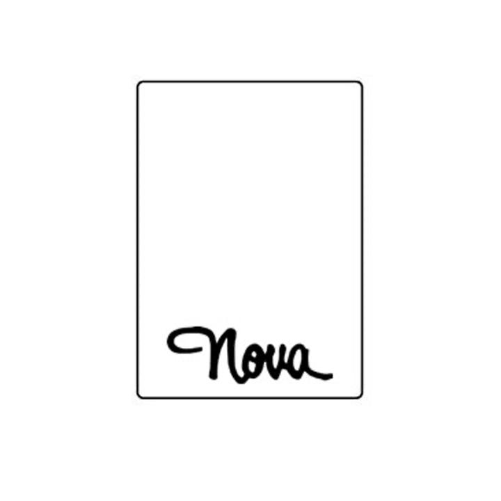 1968 72 Nova Trunk Rubber Floor Mat Nova Script