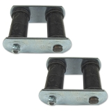 1962-1979 Nova Leaf Spring Rear Shackle Set