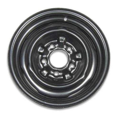 1966-1977 Chevelle Steel COPO Wheel 14 x 6 Black