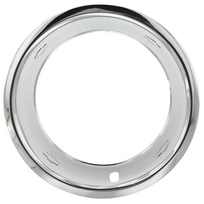 15 x 8 chevrolet rally wheel trim rings w bowtie logo. Black Bedroom Furniture Sets. Home Design Ideas