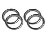 1964-1972 El Camino Rally Wheel Trim Rings Kit 15 X 7
