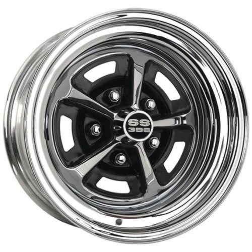 1969 1970 Nova Super Sport Wheel 15 X 7 Chrome