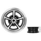 17 x 7 Inch SS Magnum Alloy Wheel Zero Offset