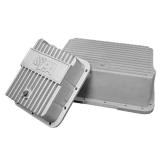 Performance Automatic TH350 Transmission Pan, Polished Aluminum, Standard Depth