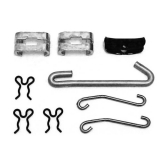 1964-1972 El Camino Parking Brake Cable Support Kit With TH400