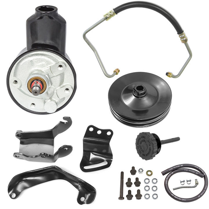1970-1972 Camaro Small Block with Air Conditioning Power Steering Conversion Kit