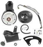 1970-1972 El Camino Power Steering Conversion Kit (Big Block, Long Water Pump, w/ A/C)
