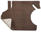 1968-1969 Chevelle Carpeted Trunk Mat with Pad, Black 01