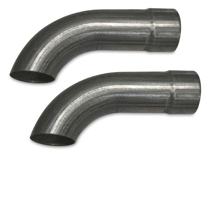 1964-1977 Chevelle Pypes SS 2.5 Inch Stainless Turndowns