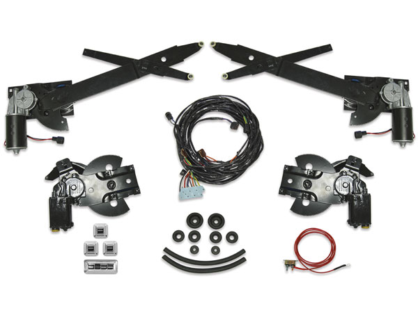 1968 1969 chevrolet power window kit