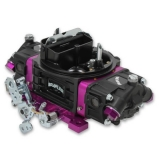 1967-2019 Camaro Brawler Street Carburetor, 650 CFM, Mechanical Secondary, Black-Purple