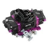 1967-2019 Camaro Brawler Street Carburetor, 750 CFM, Mechanical Secondary, Black-Purple