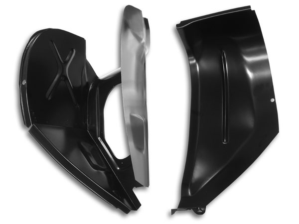 1967-1969 Camaro Cowl Panel Shoulder Assembly Left Side