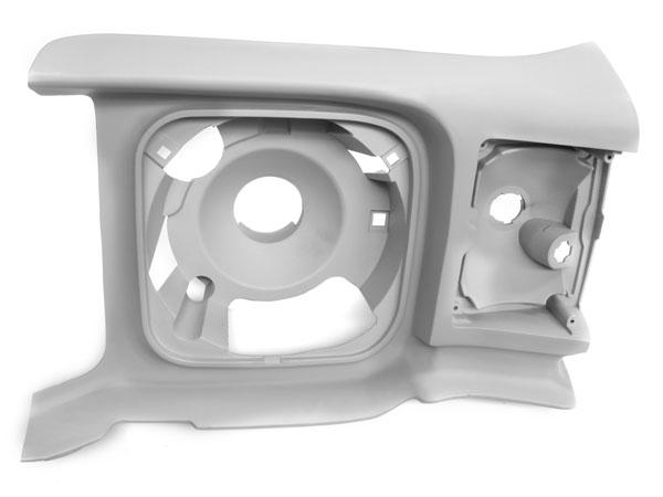 1971-1972 Chevelle Left Hand Headlamp Extension