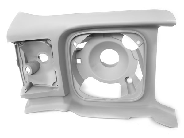 1971-1972 Chevelle Right Hand Headlamp Extension