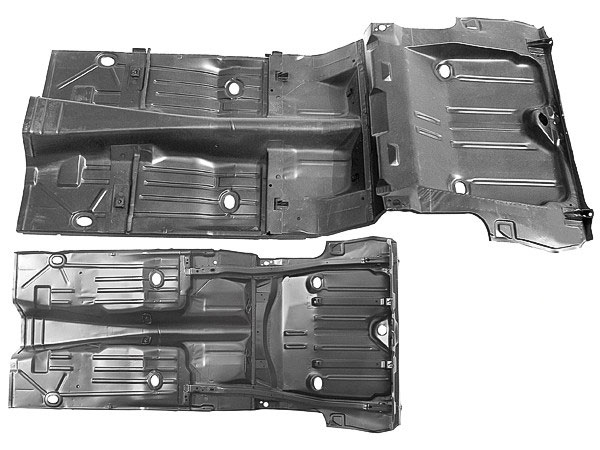 1967 camaro full floor and trunk pan assembly for 1967 camaro floor pan replacement