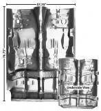 1968-1969 Chevrolet Full Floor Pan with Braces