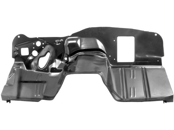 1968-1969 Camaro Firewall For Air Conditioning