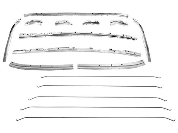1968 1972 Chevelle Roof Panel Inner Brace Kit
