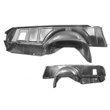 1968-1972 El Camino Complete Inner Quarter Panel Right Side