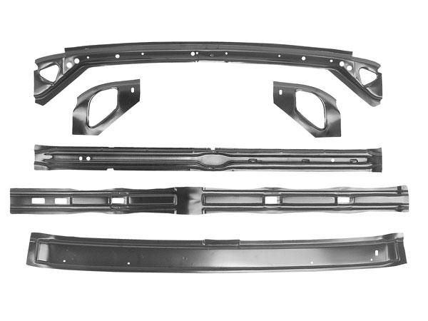 1966 1967 Chevrolet Roof Panel Brace Kit
