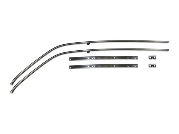1966 1967 Chevrolet Roof Weatherstrip Channel Set