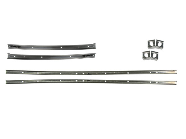 1968 Chevelle Roof Weatherstrip Channel Set