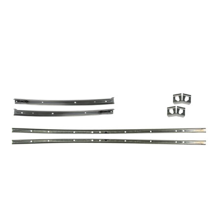 1969 Chevelle Roof Weatherstrip Channel Set