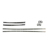 1969 Chevrolet Roof Weatherstrip Channel Set