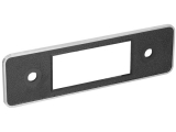 DIN Repair Kit with Black/Chrome Trim Faceplate