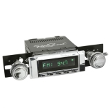 1964-1965 Chevelle RetroSound Hermosa Radio Kit, Chrome Face