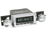 1962-1965 Nova RetroSound Laguna Radio Kit, Chrome Face