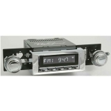 1968-1979 Nova RetroSound Laguna Radio Kit, Chrome Face Chrome Bezel