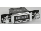 1968-1970 El Camino RetroSound Long Beach Radio Kit, Chrome Face