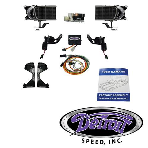1968 Camaro Detroit Speed Rally Sport System Kit