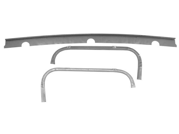 1967-1969 Camaro Trunk Weatherstrip Gutter