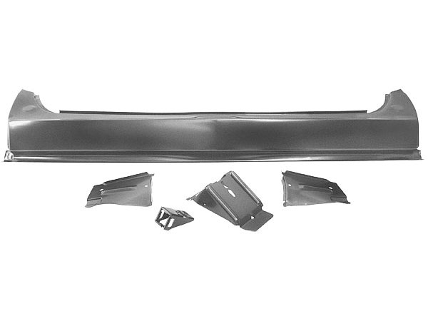 1968-1969 Chevelle Tail Lamp Panel With Brackets