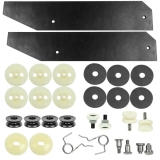 1968-1972 Chevelle Quarter Window Hardware Kit