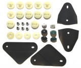 1968-1969 Camaro Door Window Hardware Kit
