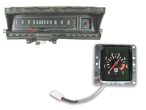 1971 1972 chevrolet sweep dash tachometer conversion