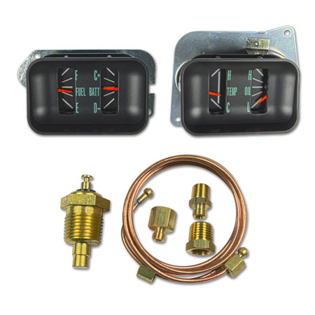 1966 1967 Chevelle Gauge Conversion Kit High Oil Pressure