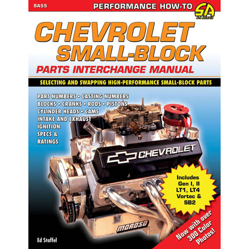 Chevrolet Small-Block Parts Interchange Manual