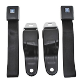Retractable GM Plastic Push Button Seatbelts