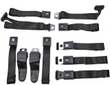 1967-1969 Camaro OE Style Lap Seat Belt Full Set With Shoulder Harnesses