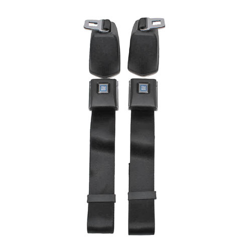 1966-1972 El Camino OE Style Front Retractable Lap Seat Belts