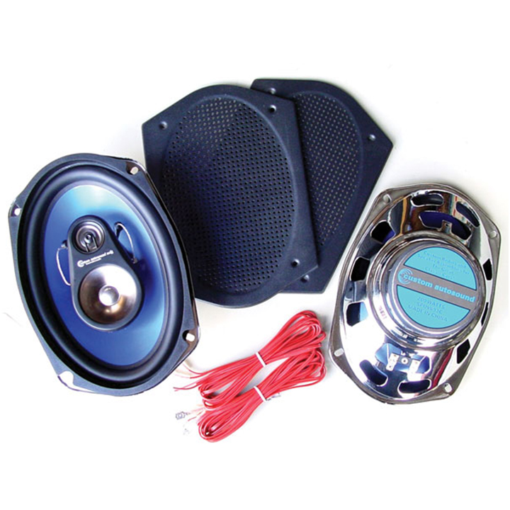 1962-1979 Nova Rear Speakers By Custom AutoSound: CAM-693C