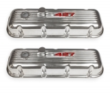 1964-1977 El Camino Big Block Custom Finned Aluminum SS 427 Valve Covers